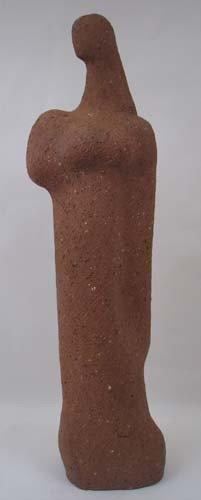 112: Jerry Caplan Standing Female Figure