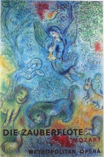 114: Marc Chagall Magic Flute litho