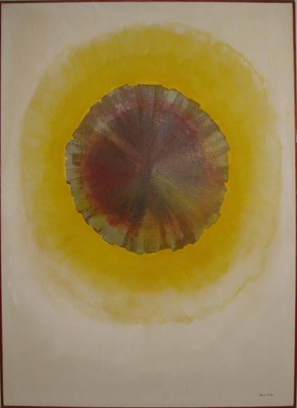 117: Janice Colker Abstract Painting