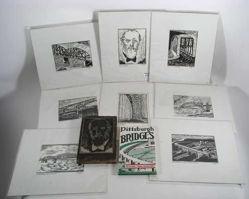 164: Pittsburgh Bridges by Elizabeth Taylor Hebertson