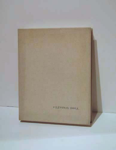 167: Clifton Thompson Hill handmade paper book