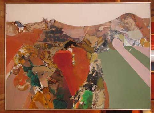 172: Tom Ide 1960's Abstract Painting