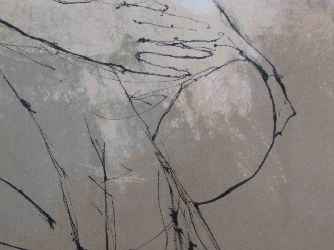 176: Jean Jansem Nude with Towel lithograph - 7
