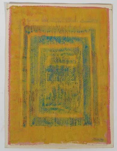 177: Gloria Stoll Karn ptg. On paper