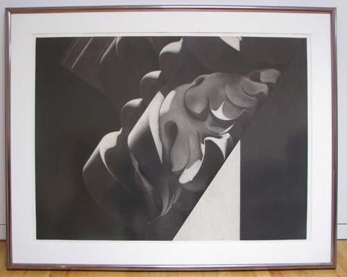 179: Hugh Kepets Original Print. S.L.P.#4 Red|Gray