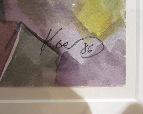 181: Henry Koerner Bloomfield Bridge watercolor - 4
