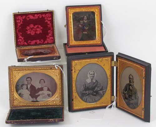 245: Ambrotype Group of Couples