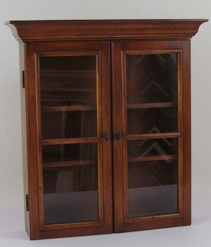 951: Alfred Assid Wood Display Case