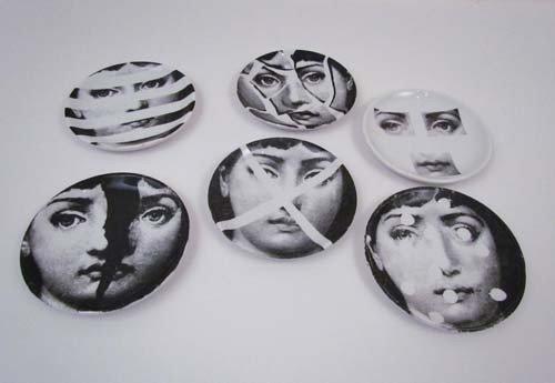 7: 6 Pierro Fornasetti Coasters