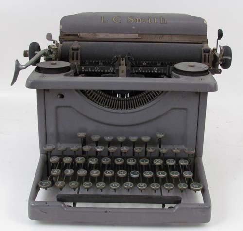 19: LC Smith Vintage Typewriter