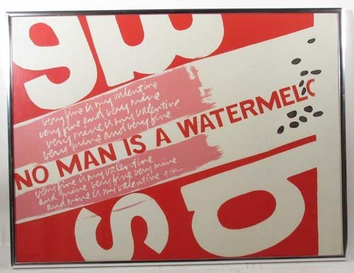 "103: Sister Mary Corita ""No Man Is A Watermelon"" origin"