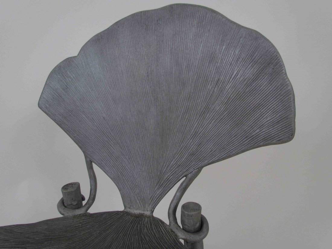 114: Pair of Claude Lalanne Ginkgo Chairs - 3