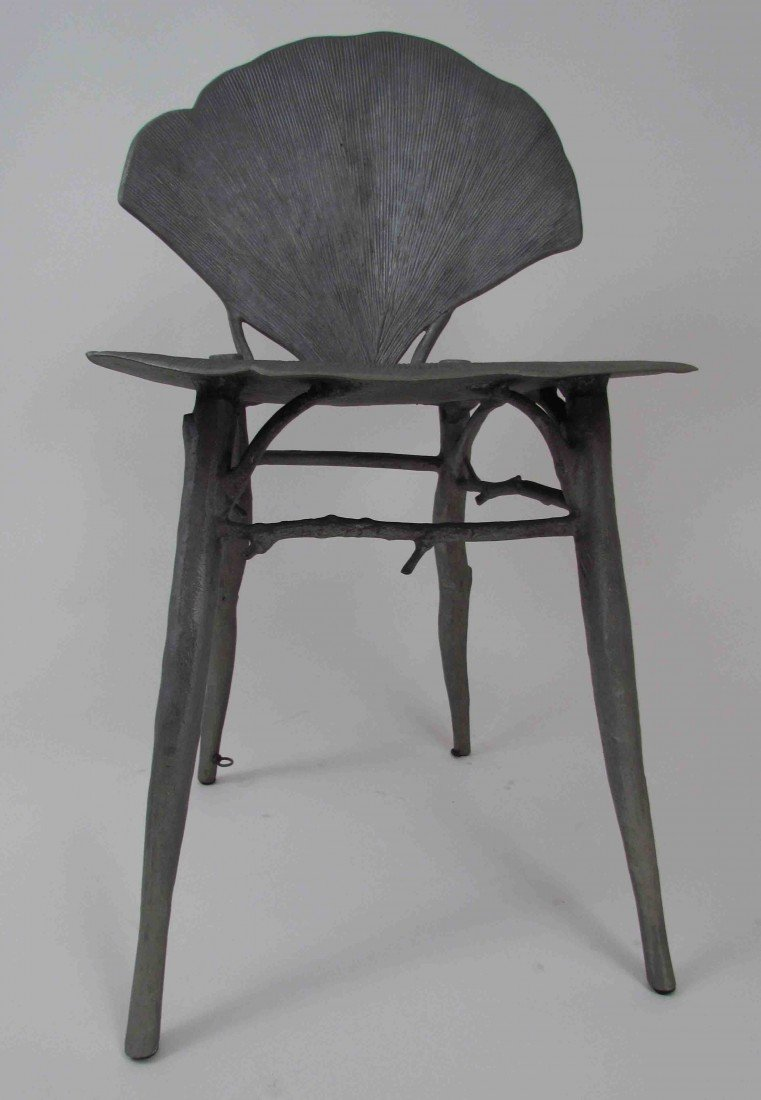 114: Pair of Claude Lalanne Ginkgo Chairs - 7