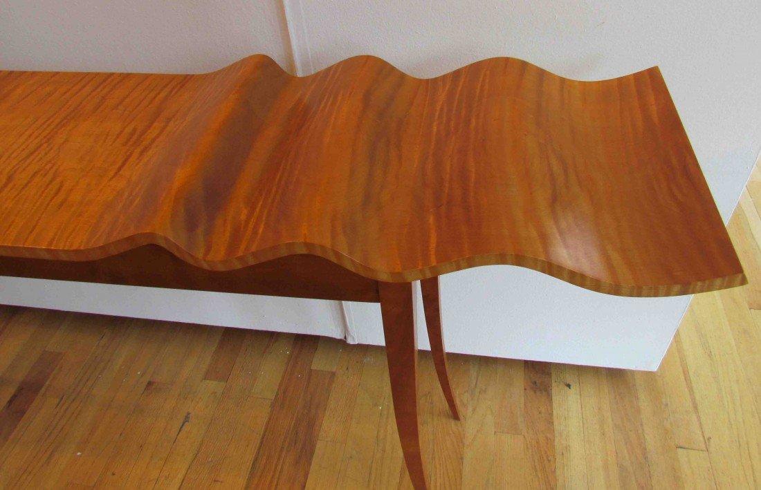 "127: T W Stender Sculptural ""Wave Goodbye"" Table - 2"
