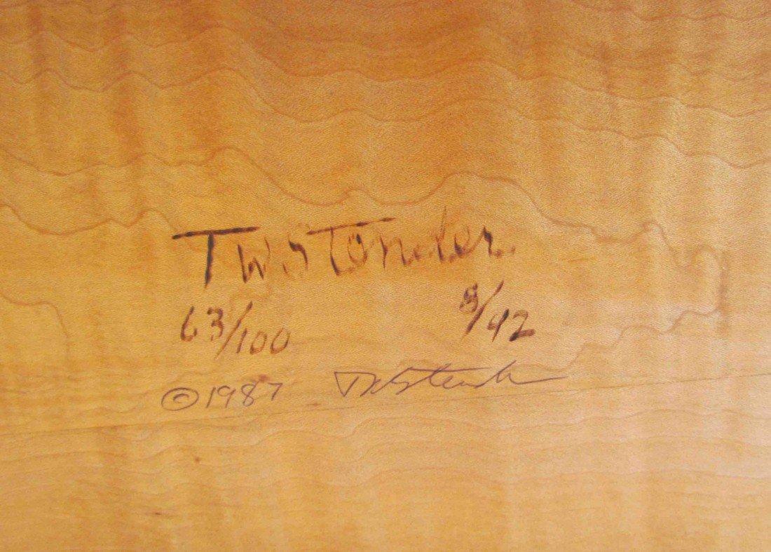 "127: T W Stender Sculptural ""Wave Goodbye"" Table - 7"