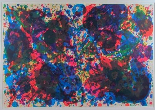 Sam Francis Fresh Air School orig lithograph