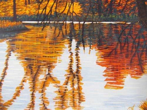 308: pair of Gordon Mortensen color reduction woodcuts, - 7