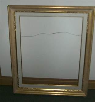 2 metal leaf frames