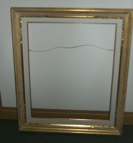 2: 2 metal leaf frames