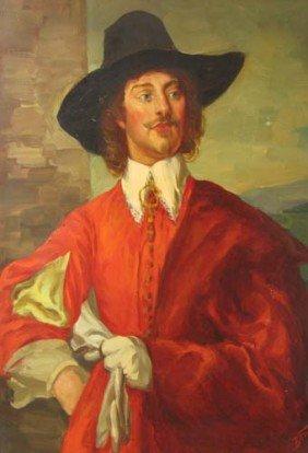Vincent Nesbert Portrait Of A Musketeer