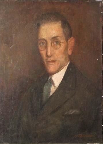 139: Samuel Rosenberg Portrait of Arthur Watson Sparks