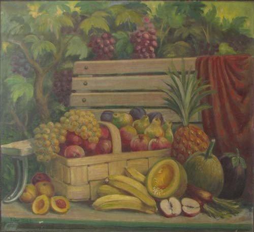 142: Peter Simboli Fruit Still Life 1939