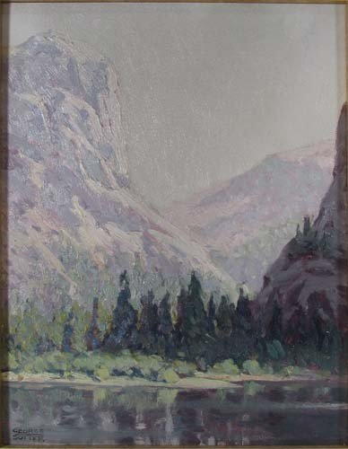 145: George Sotter Mountain Landscape