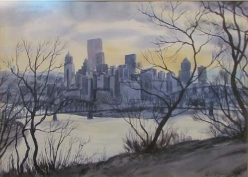 154: Robert R. Young View of Pittsburgh