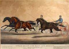 406: Currier and Ives large Folio Ethan Allen and Mate
