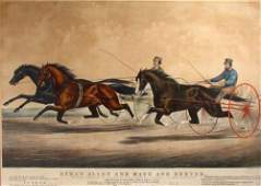 27: Currier and Ives large Folio Ethan Allen and Mate a
