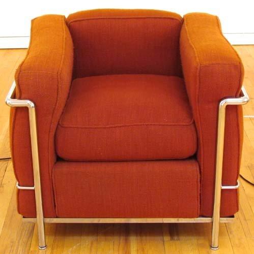 525: Le Corbusier Cassina LC2 Armchair