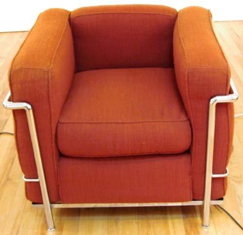 526: Le Corbusier Cassina LC2 Armchair
