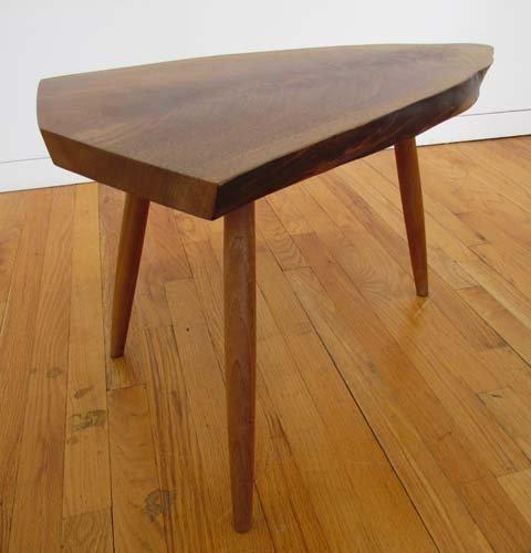 540: NAKASHIMA  ENGLISH WALNUT WEPMAN TABLE