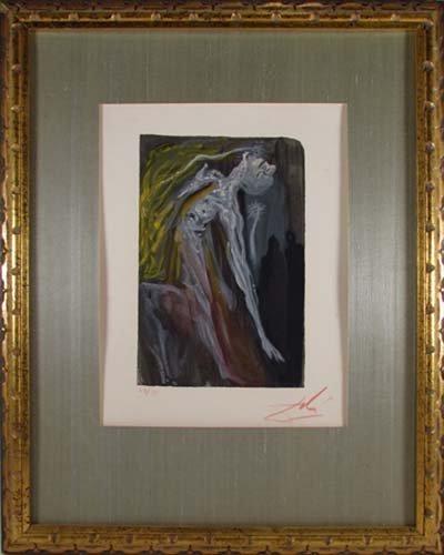 646: Salvador Dali Dante's Divine Comedy Series (Infern