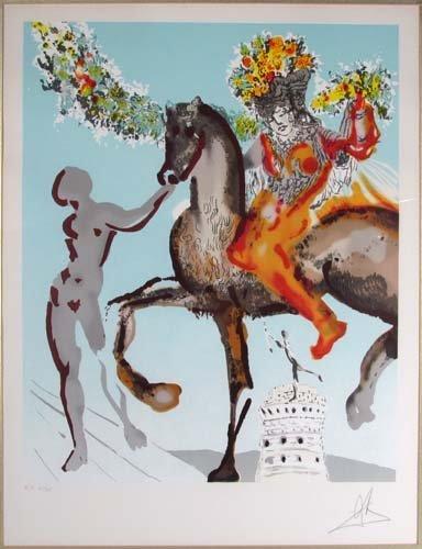 649: Salvador Dali, Harbinger from the Jerusalem Suite