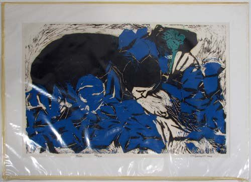 753: Collection of 5 Contemporary  prints from 1970's