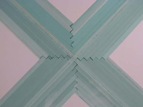775: John Seitz  Glass collage Sculpture - 2