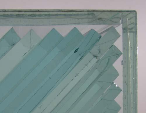 775: John Seitz  Glass collage Sculpture - 4