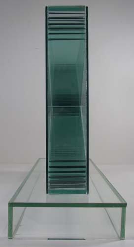 775: John Seitz  Glass collage Sculpture - 5