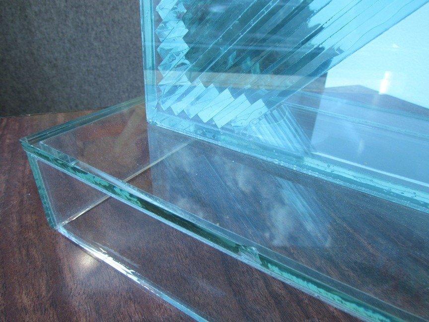775: John Seitz  Glass collage Sculpture - 7