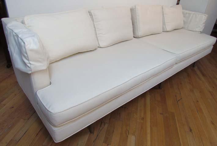 469: Edward Wormley sofa, model 4907A Long Sofa
