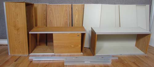 537: Partial George Nelson CSS Wall Unit
