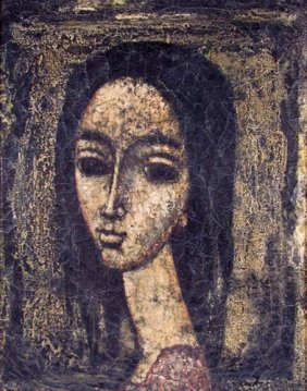 Enrico Campagnola Tete De Femme Oil