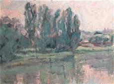 94: Adolf Herstein, Imp. Landscape painting
