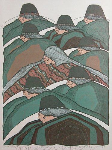 342: Armando Pena, two prints