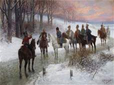 105: Jan Van Chelminski painting Napoleon Outside of So