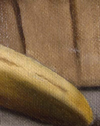 177: B.S. Hays oil of Fruit Basket Still Life - 4