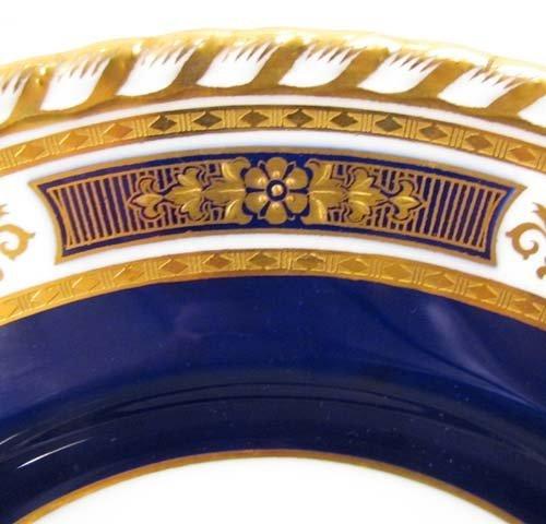 332:  11 Minton Plates for Tiffany & Co., NYC. Cobalt B - 3