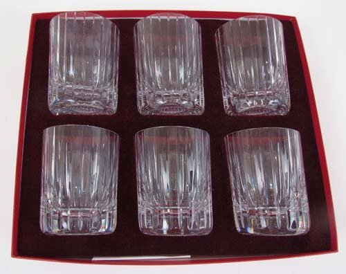 527: Baccarat Old Fashioned Glasses Set of 6 - 2