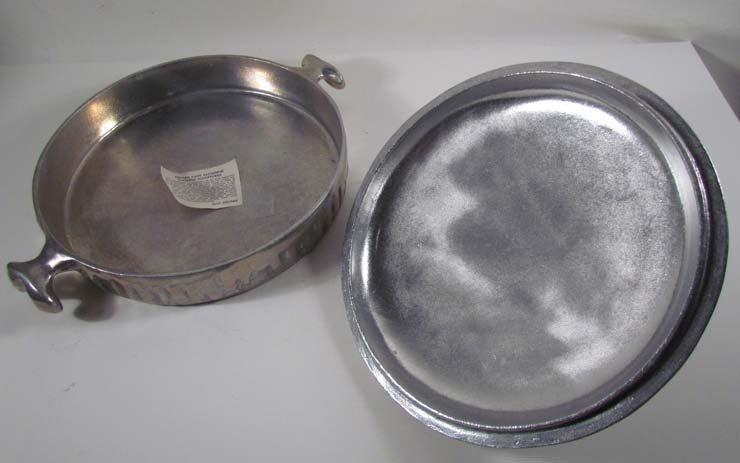 7: Don Drumm aluminum cooking sculpture - 6